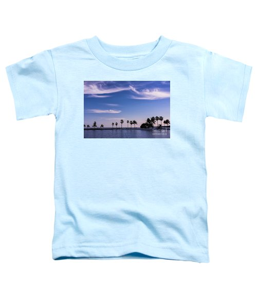 Blue Tropics Toddler T-Shirt