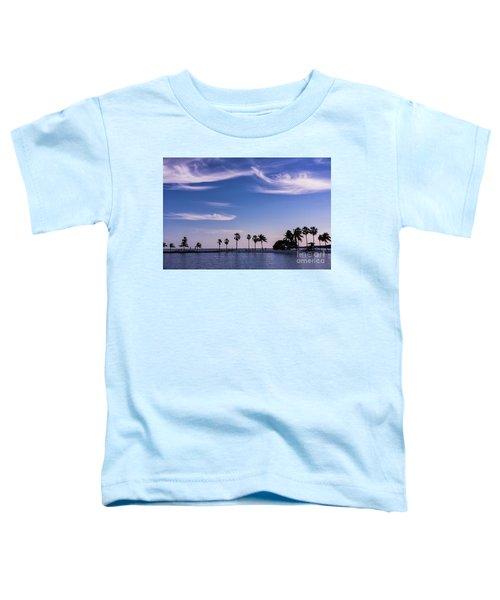 Blue Tropics Toddler T-Shirt