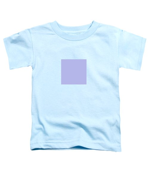 Blue Ultra Soft Lavender Colour Palette Toddler T-Shirt