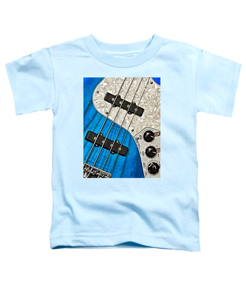 Blues Bass Toddler T-Shirt