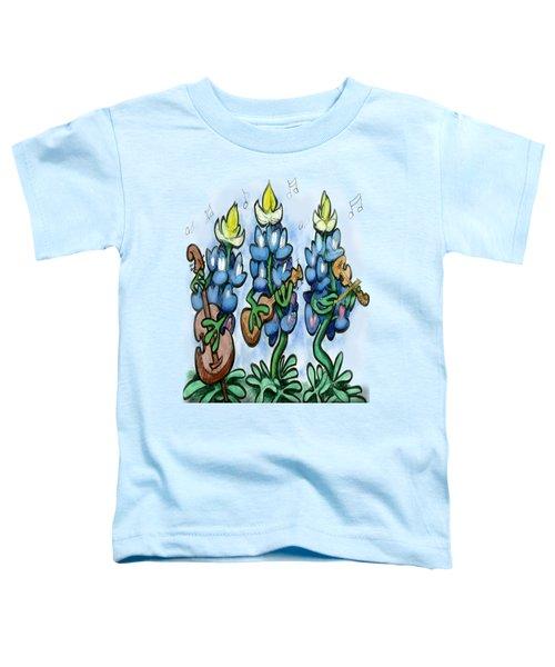 Blues Bonnets Toddler T-Shirt