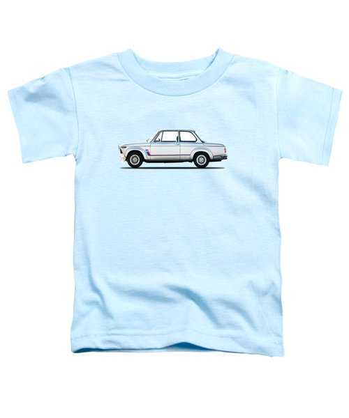 Bmw 2002 Turbo Toddler T-Shirt by Mark Rogan