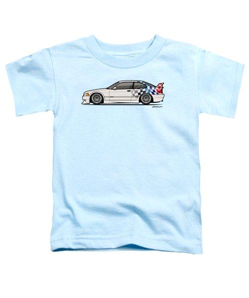 Bmw 3 Series E36 M3 Gtr Coupe Touring Car Toddler T-Shirt