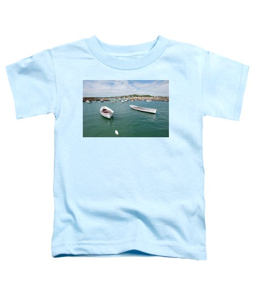Boats In Habour Toddler T-Shirt