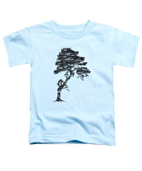 Bodhi Tree Of Awareness Toddler T-Shirt