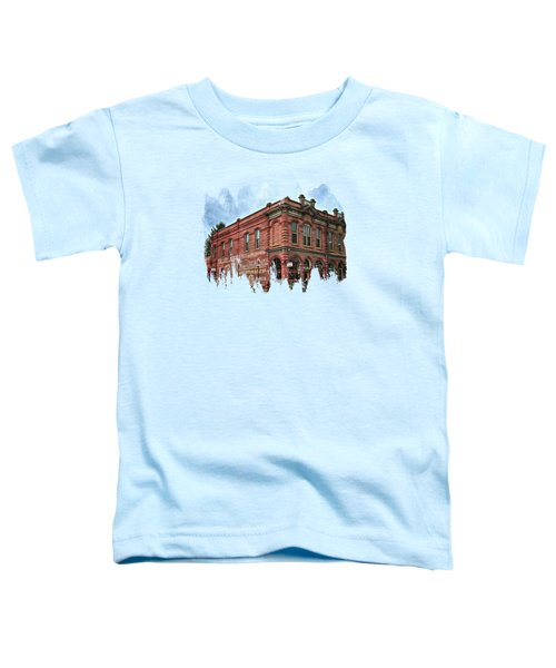 Boomtown Saloon Jacksonville Oregon Toddler T-Shirt by Thom Zehrfeld