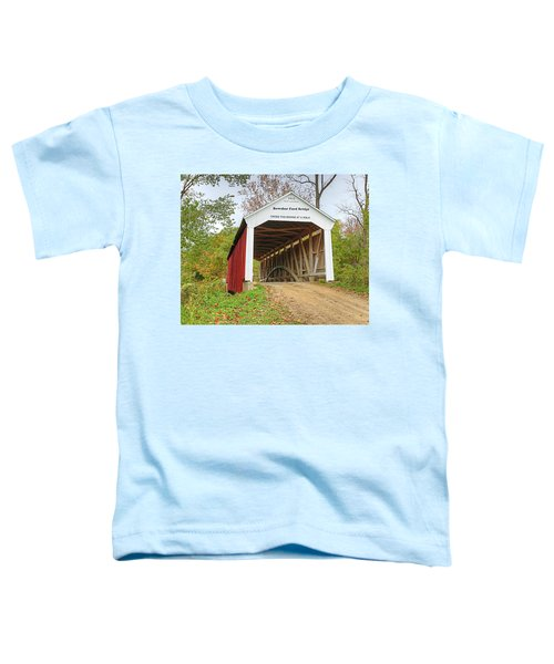 Bowser Ford Covered Bridge Toddler T-Shirt