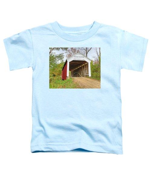 Bowser Ford Covered Bridge Toddler T-Shirt