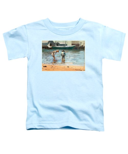 Boys Wading Toddler T-Shirt