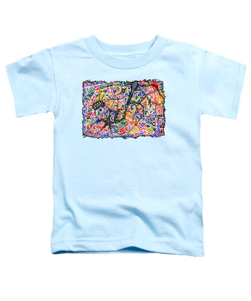 Brain Map Toddler T-Shirt