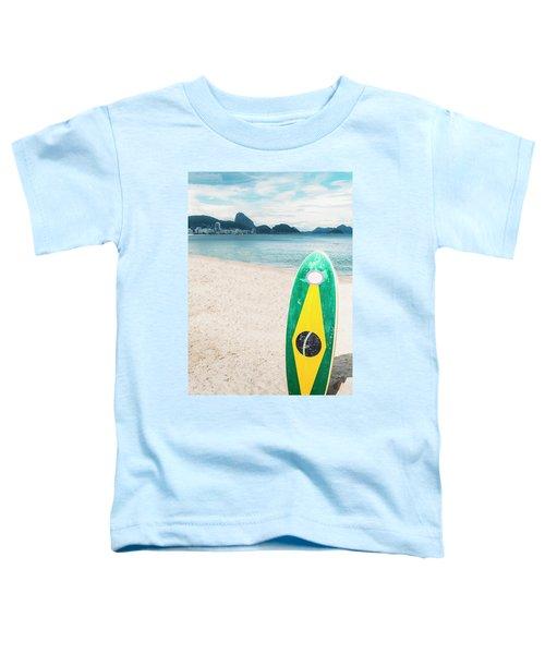 Brazilian Standup Paddle Toddler T-Shirt