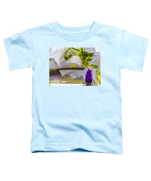 Bridge Flower.  Toddler T-Shirt