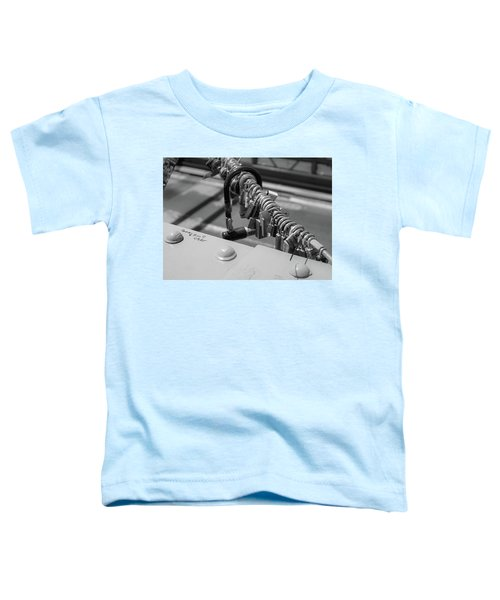 Brooklyn Bridge Love Locks In New York, New York Toddler T-Shirt