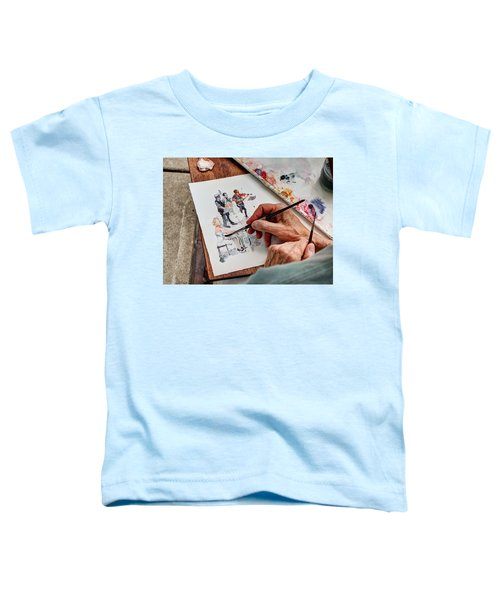 Brush Strokes Toddler T-Shirt