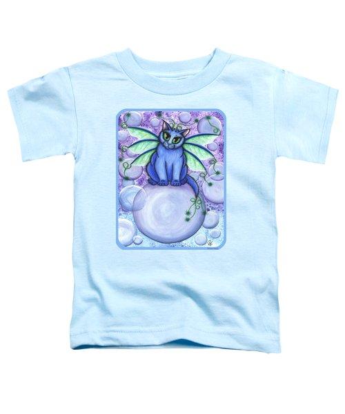 Bubble Fairy Cat Toddler T-Shirt