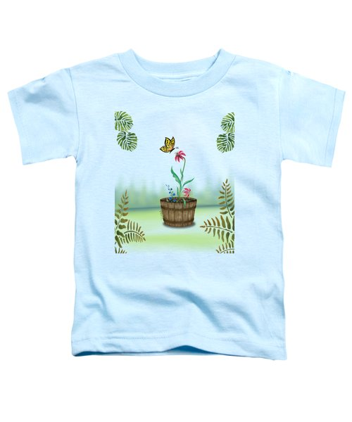 Bucket Butterfly 1 Toddler T-Shirt