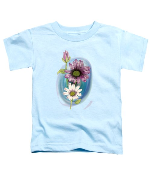 Bud And  Flowers Toddler T-Shirt