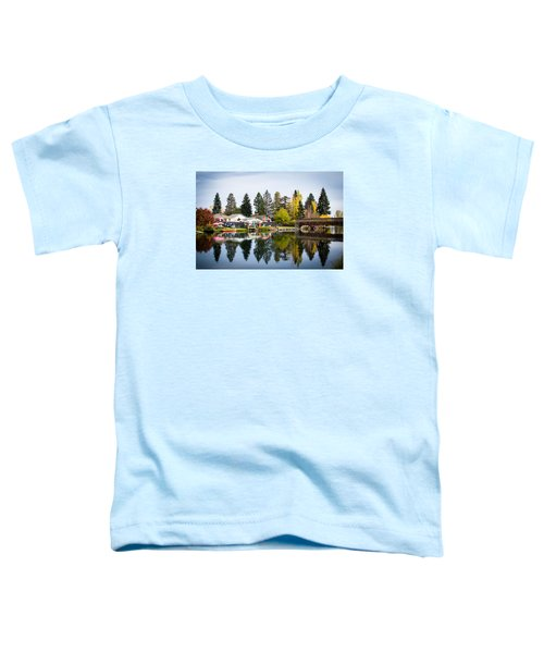 bungalows on the Deschutes Toddler T-Shirt