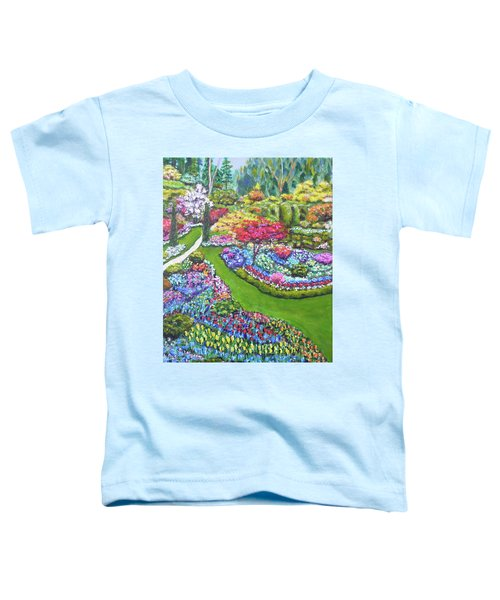 Butchart Gardens Toddler T-Shirt