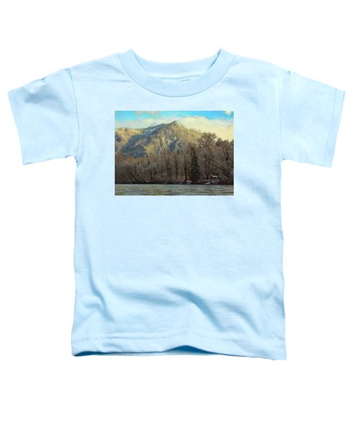 Cabin On The Skagit River Toddler T-Shirt