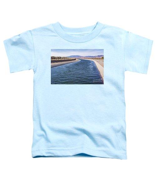 California Aqueduct S Curves Toddler T-Shirt