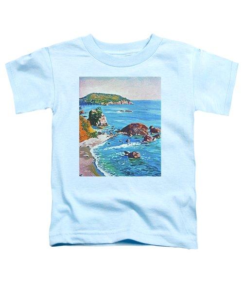 California Coastline Toddler T-Shirt