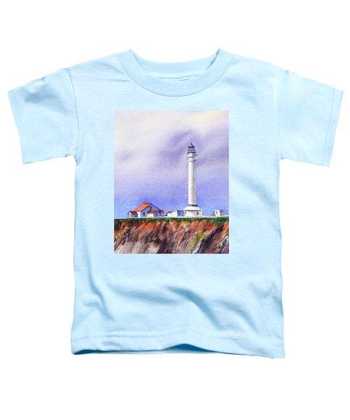 California Lighthouse Point Arena Toddler T-Shirt