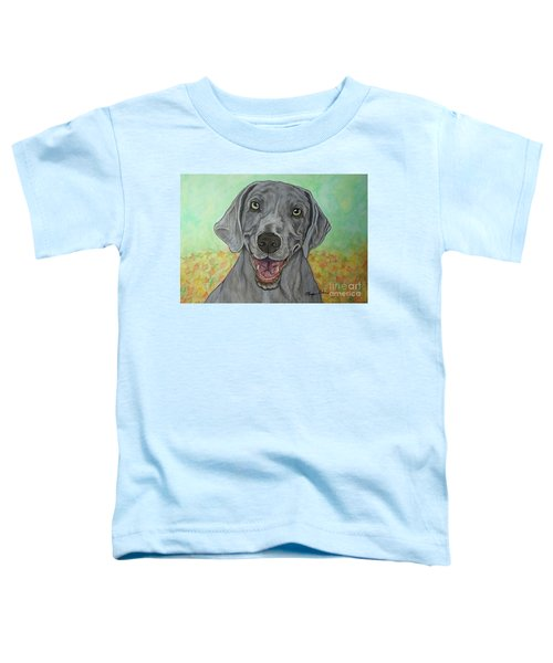 Camden The Weimaraner Toddler T-Shirt