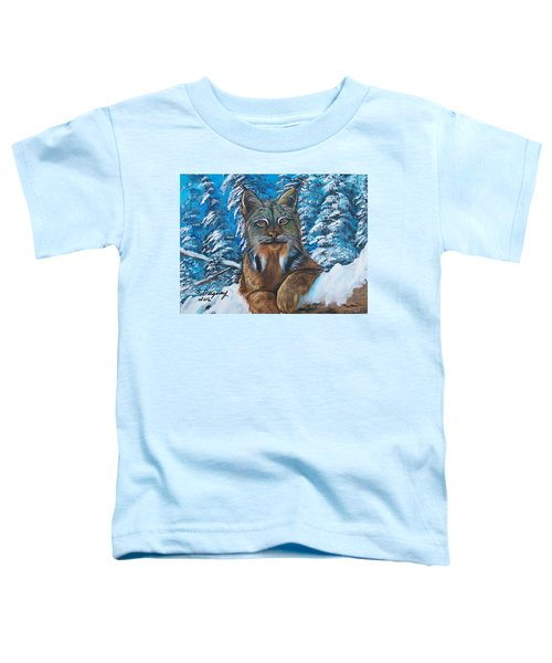 Canadian Lynx Toddler T-Shirt