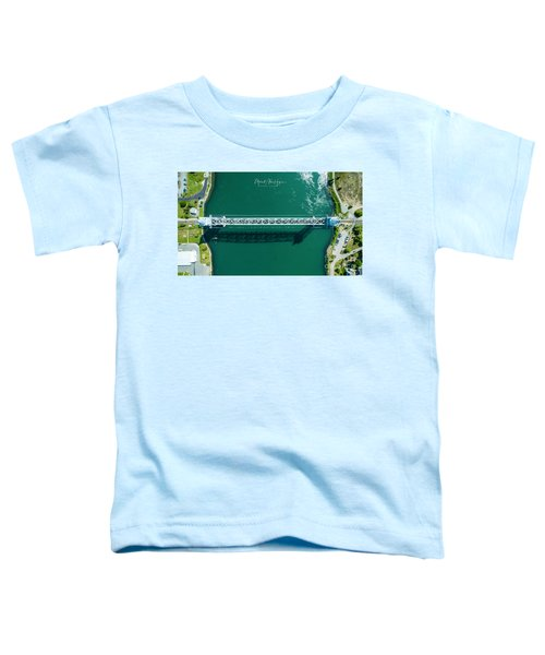 Cape Cod Canal Railroad Bridge Toddler T-Shirt