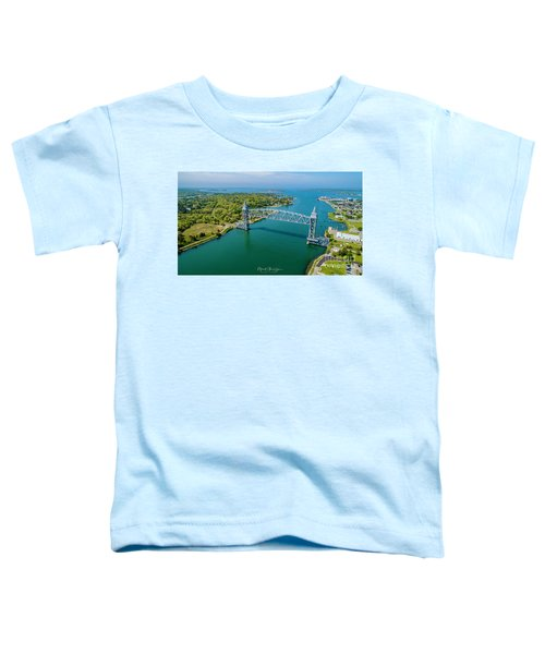Cape Cod Canal Railroad Toddler T-Shirt