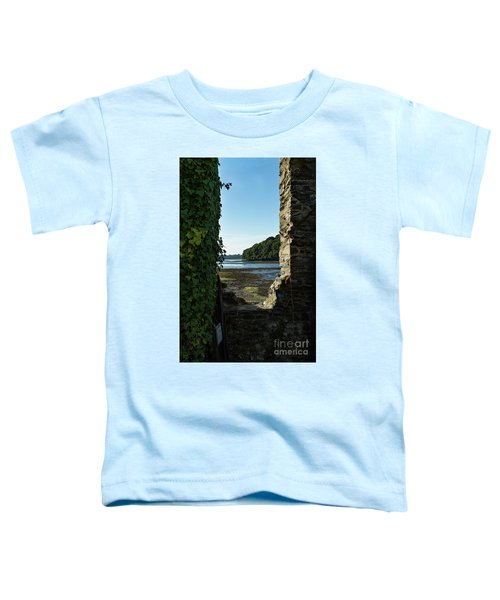 Photographs Of Cornwall Carnon Mine Window Toddler T-Shirt
