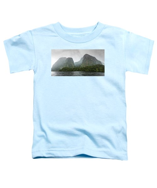 Toddler T-Shirt featuring the photograph Carved By Glaciers by Chris Cousins