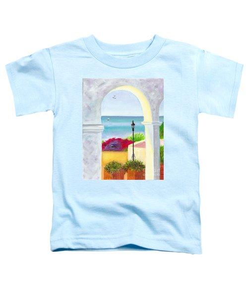 Casa Romantica View Toddler T-Shirt