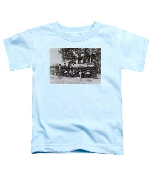 Casey Jones Engine  Toddler T-Shirt