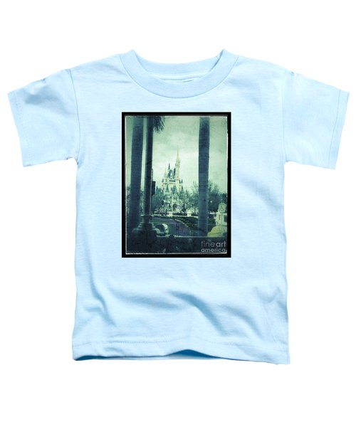 Castle Between The Palms Toddler T-Shirt