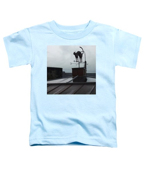 Cat On A Cool Tin Roof Toddler T-Shirt