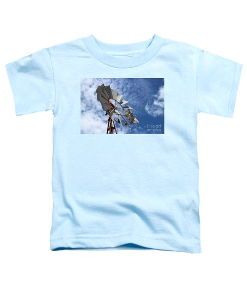 Toddler T-Shirt featuring the photograph Catching The Breeze by Stephen Mitchell