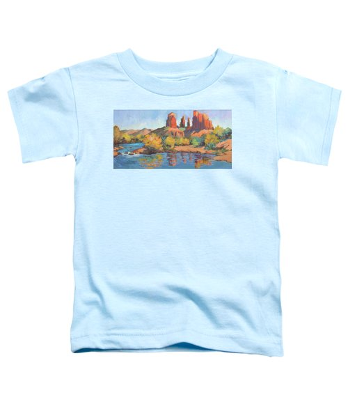 Moonrise Cathedral Rock Sedona Toddler T-Shirt