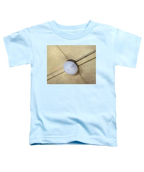 Ceiling Light On Antique Train Toddler T-Shirt