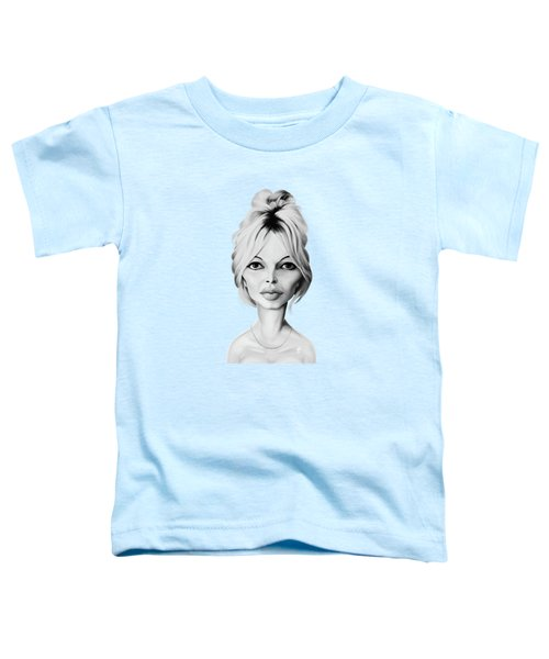 Celebrity Sunday - Brigitte Bardot Toddler T-Shirt
