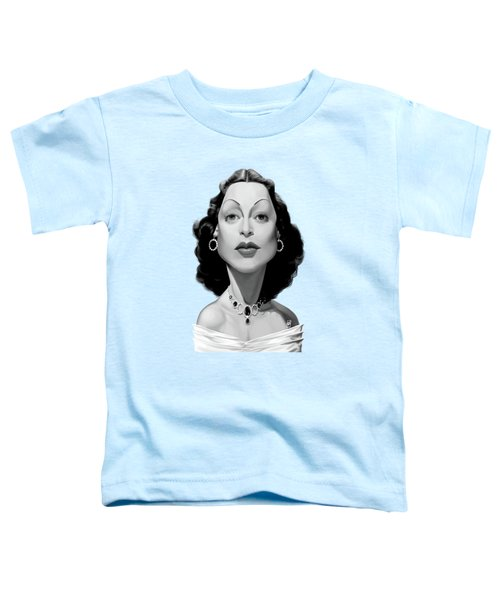 Celebrity Sunday - Hedy Lamarr Toddler T-Shirt
