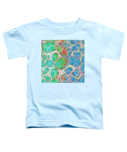Cell Abstract 10 Toddler T-Shirt by Edward Fielding