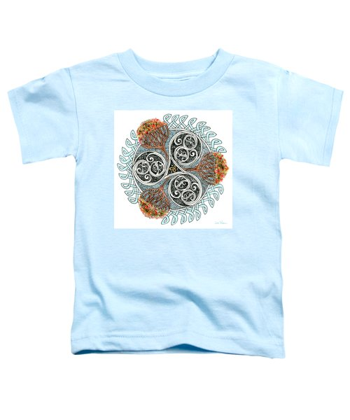 Celtic Knot With Autumn Trees Toddler T-Shirt