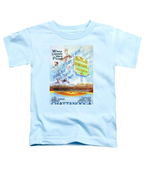 Chattanooga Historic Baseball Poster Toddler T-Shirt