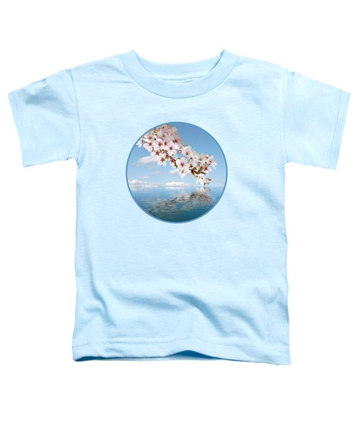 Cherry Cascade Reflection Toddler T-Shirt