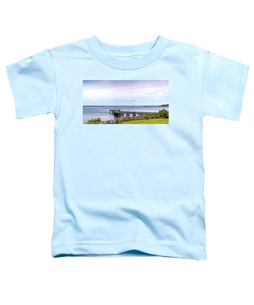 Chesapeake Bay Maryland Panorama Toddler T-Shirt