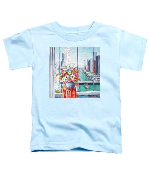 Chicago River Toddler T-Shirt