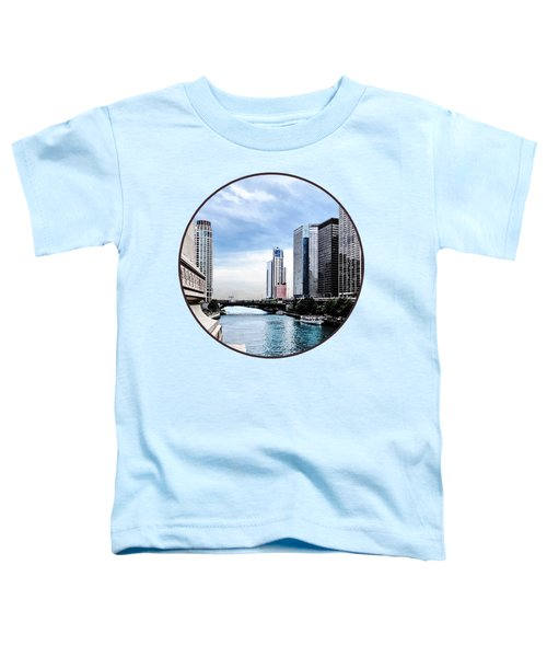 Chicago - View From Michigan Avenue Bridge Toddler T-Shirt