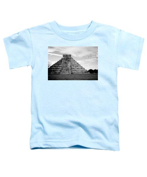 Chichen Itza B-w Toddler T-Shirt